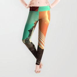 Leaving the Void Leggings