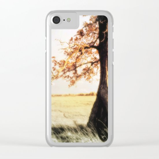 An Old Oak Clear iPhone Case
