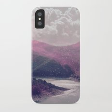 Magical Mountains iPhone X Slim Case