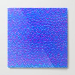 color waves 3 Metal Print
