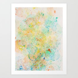 Abstract Artwork Colourful #11 Art Print