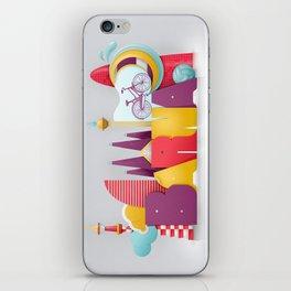 Barcelona ilustrada iPhone Skin