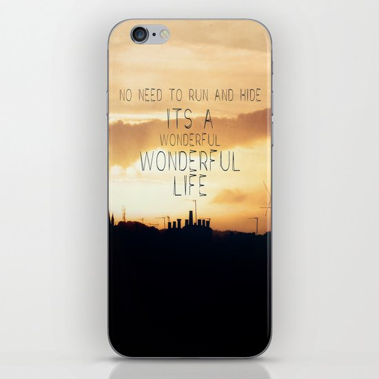 It's A Wonderful Life iPhone & iPod Skin