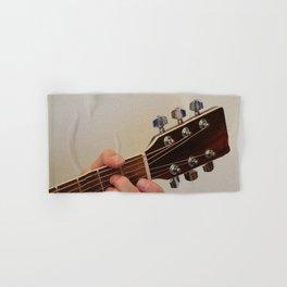 Guitar Player Hand & Bath Towel