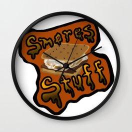 Smores Stuff Wall Clock
