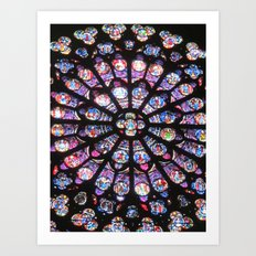 Blessed Light Art Print