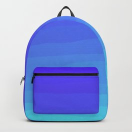 Cobalt Light Blue gradient Backpack