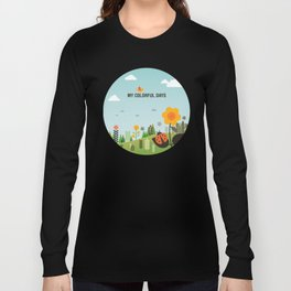 My Colorful Days Long Sleeve T-shirt