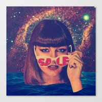 sale Canvas Prints featuring Sale! by Serra Kiziltas