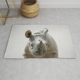 Baby Rhino - Colorful Rug