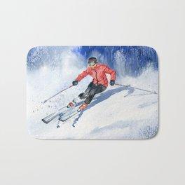 Winter Sport Bath Mat