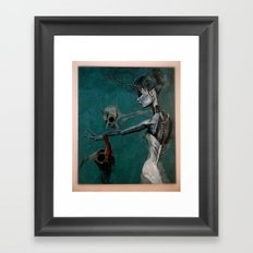 strange women Framed Art Print