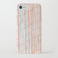 tape iPhone & iPod Cases featuring tape by  Ray Athi