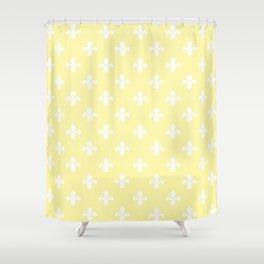 Southern Cottage Fleur de Lys Shower Curtain