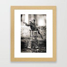 The Blind Cowboy • 5 Framed Art Print
