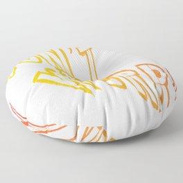 Don't worry write - Vector Floor Pillow