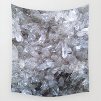 crystal Wall Tapestries featuring Crystal by Danielle Fedorshik