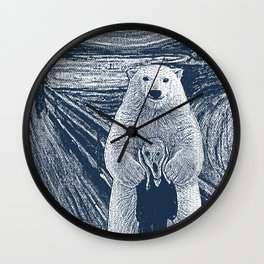 bear factor Wall Clock