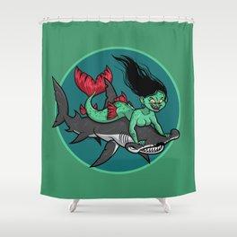 Mermaid Mayhem Shower Curtain