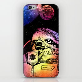 Astronaut Sloth iPhone Skin