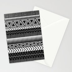 Tribal Monochrome. Stationery Cards