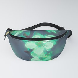 Another World - Glowing Flowers Fanny Pack
