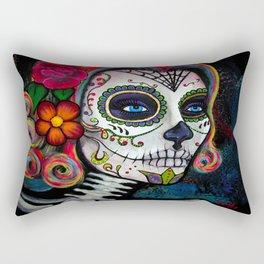 Sugar Skull Candy Rectangular Pillow