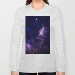 gAlAXY Purple Blue Long Sleeve T-shirt