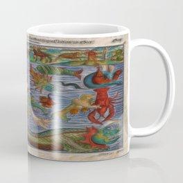 Antique Monster Card Coffee Mug