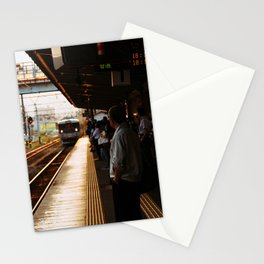 Golden Hour Train Stationery Cards