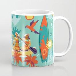 Hawaiian resort Coffee Mug