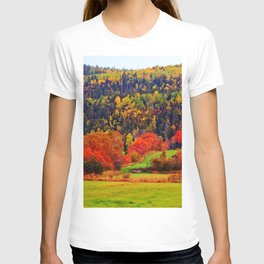 Explosion of Autumn Colors T-shirt