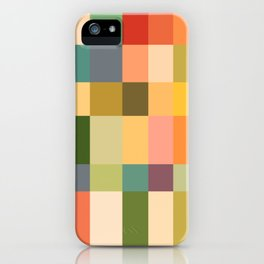 Vintage Checkered Pattern iPhone Case