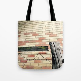 really old fence Tote Bag