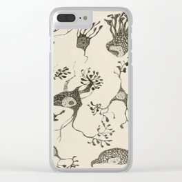 Neuron Cells Clear iPhone Case