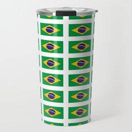 flag of brazil 4-Brazil, flag, flag of brazil, brazilian, bresil, bresilien, Brasil, Rio, Sao Paulo Travel Mug