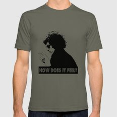 How Does It Feel?  |  Bob Dylan LARGE Mens Fitted Tee Lieutenant
