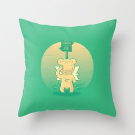 Roads of life Throw Pillow