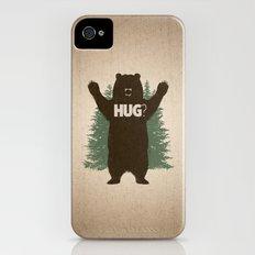 Bear Hug iPhone (4, 4s) Slim Case