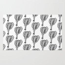 Elephant Mosaic Rug