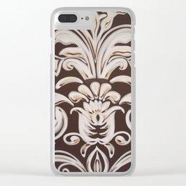 Le Fleur Clear iPhone Case