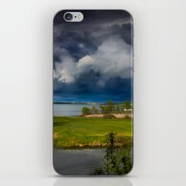 Stormy iPhone Skin