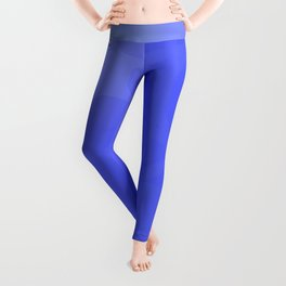 Neutral background of blue tones. Leggings