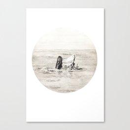 GHOST SHIP III Canvas Print
