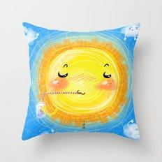summer season Throw Pillow