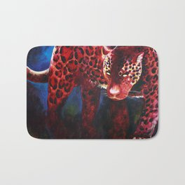 Jaguar, Spirit Animal Bath Mat