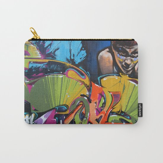 Colorful Graffiti Carry-All Pouch