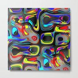 paint on glass Metal Print