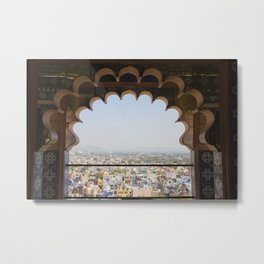 City Views from the City Palace Metal Print