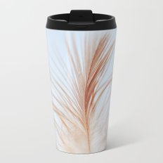 FEATHER cream look - animal colletion Travel Mug